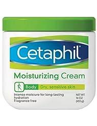 Cetaphil Moisturizing Cream for Dry/Sensitive Skin, Fragrance...