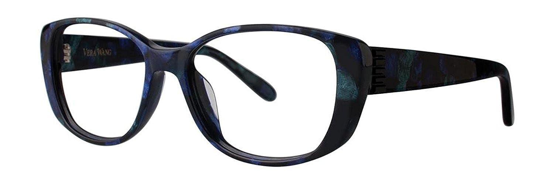 Vera Wang VA15 Midnight Tortoise Eyeglasses Size54