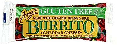 Amy's Burritos, Gluten Free Bean & Cheese Burrito, 5.5 Ounce (Frozen)