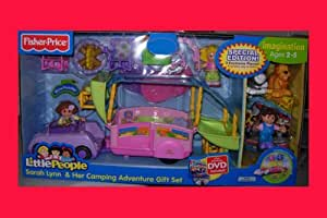 Amazon Com Fisher Price Little People Sarah Lynn And