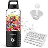 PopBabies Portable Blender, Personal Blender with USB Rechargeable Small Blender for Shakes