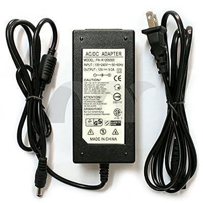 Eztronics Corp® AC 100~220V TO DC 12V 5A 60W Power Supply AC Adaptor