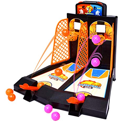 (FINGEROCK Basketball Shooting Game -Kids' Gift ,Table Game ,Toy ,Party Game,Educational Toy ,Encourage Parents and Kids Interaction.)