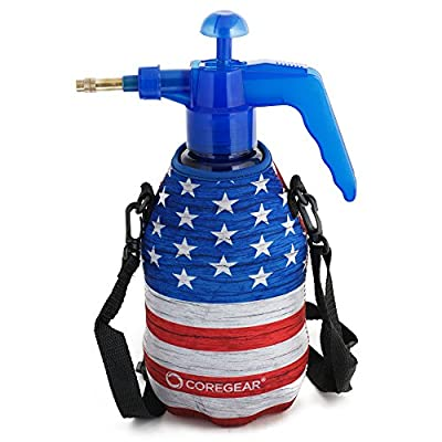 COREGEAR (Ultra Cool XLS USA Misters 1.5 Liter Mister & Sprayer Personal Water Pump with Full Neoprene Jacket and Built-in Carrying Strap