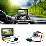 Wireless Backup Camera and Monitor Kit,Wide Angel HD Night Vision Waterproof Rear View Camera Parking Assistance System with 5 inch LCD Screen