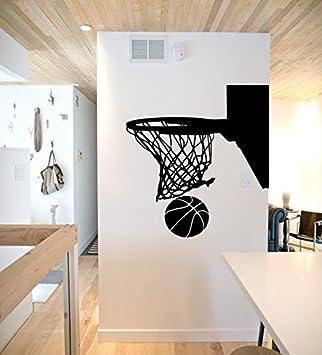 Aro de baloncesto – adhesivo para pared de baloncesto, aro de ...