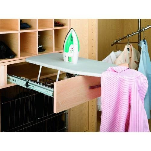 "Rev-A-Shelf RAS-CIB-COVER-R-52 16"" Closet Ironing Board Replacement Cover, Silver"