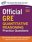 img - for Official GRE Quantitative Reasoning Practice Questions, Second Edition, Volume 1 (Test Prep) book / textbook / text book