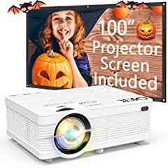 Projection Tech: LCD TFT Projection System Display Colors: 16. 7M Lamp color temperature: 20, 000K Lamp life time: 50000 hrs. Power supply AC IN: ~100V-260V 50HZ Projector consumption: 50W AV INPUT: AV Signal Format: The Global Standard Corre...