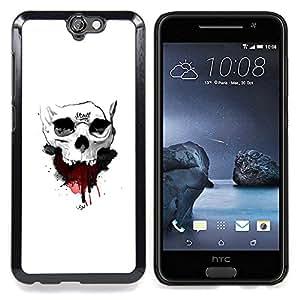 Stuss Case / Funda Carcasa protectora - Cráneo de la sangre - HTC One A9
