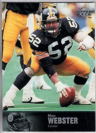153a8f8de Amazon.com: Football NFL 1997 Upper Deck Legends #176 Mike Webster ...