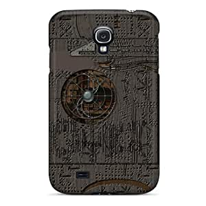 New Snap-on MniSquare Skin Case Cover Compatible With Galaxy S4- Post Tech Punk