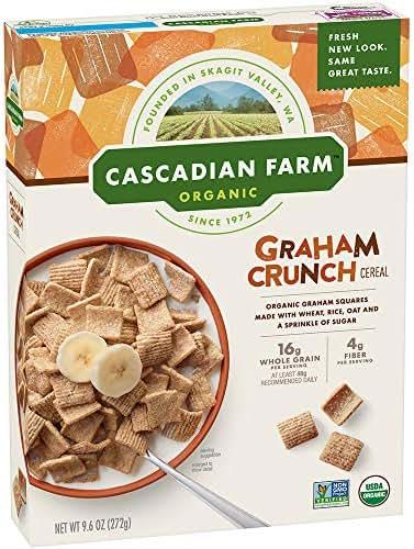 Breakfast Cereal: Cascadian Farms Graham Crunch