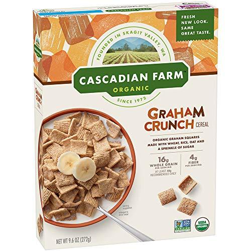 (Cascadian Farm Organic Graham Crunch Cereal 9.6 oz Box)