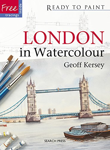 London in Watercolour (Ready to Paint) London Watercolour