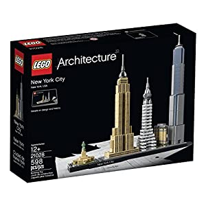 598 Piece, New York City Brick Model Building Set - 51Q3eUoxRFL - 598 Piece, New York City Brick Model Building Set