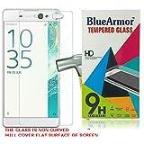 BlueArmor HD Clear Tempered Glass Screen Guard Protector for Sony Xperia XA Ultra