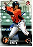 Jomar Reyes Baltimore Orioles 2016 Bowman Rookie Signed Card