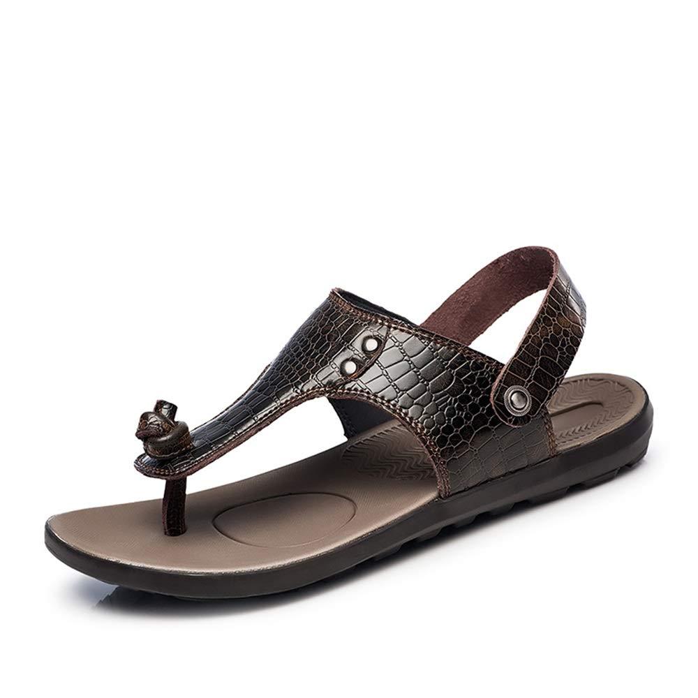 Bspringaaa Bspringaaa Bspringaaa XIANGGBO -Personlighet Män modesandaler Everyday skor Classic Crocodile Texture Elegant Allokey accessoarer dual -use Slippers  förstklassiga kvalitet först