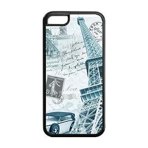 XiFu*MeiCutomize Landscape of Unit States Scratch-Resistant Case Soft TPU Skin for iphone 6 plua 5.5 inch Cover - Black/WhiteXiFu*Mei