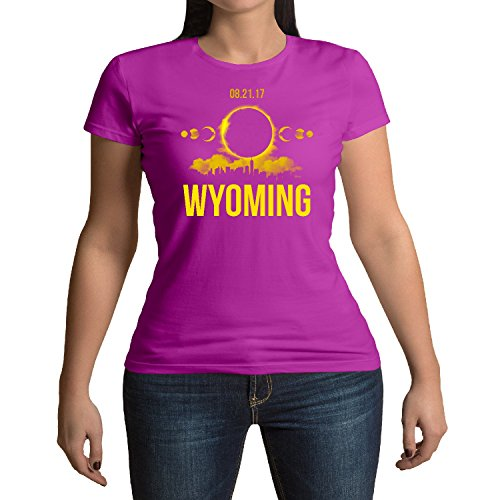 Ground Zero Wyoming Total Solar Eclipse August 21st 2017 T-Shirt (Bromas De Halloween 2017)