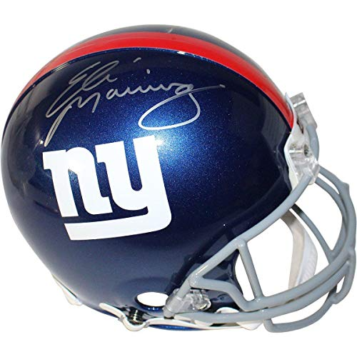 Eli Manning Signed New York Giants Proline Authentic Helmet - Steiner Sports Certified - Autographed NFL Helmets