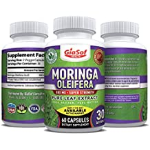 GiaSof Health Moringa Oleifera 800 Mg   Moringa Capsules   Promotes Weight Loss   Energy Booster   Optimum Moringa Dosage   Natural Sleep Aid   Pure Energy   Boost Immune System   Mood Enhancer