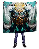 INTO THE AM Magmar Crest Blanket, Large (60'' x 80'')