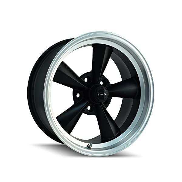Ridler-675-7765MB-Style-Matte-Black-Wheel-with-Machined-Lip-17x75x1143mm