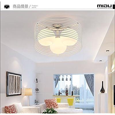Angeelee Tour Moderne Et Minimaliste De Lumière Plafond Salon