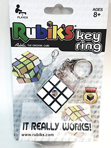 Winning Morves Rubiks The Original Cube 3x3 Puzzle Game/Cube Keychain