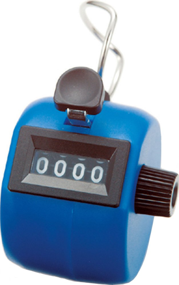 シンワ測定 数取器 手持型 C ブルー 75090