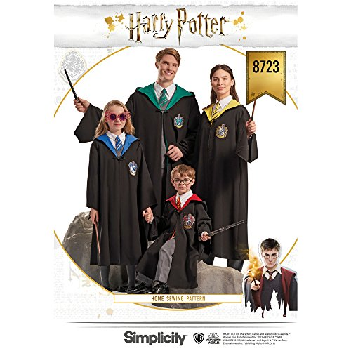 Simplicity Creative Patterns US8723A Pattern Harry Potter Unisex Costumes by Simplicity Creative Patterns