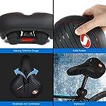MMTX-Sedile-Gel-Bike-Sella-per-Bici-da-Uomo-sedili-per-Bici-con-Memory-Foam-sedili-per-Cuscino-da-Bici-Traspiranti-e-Morbidi-per-Donna-Uomo-Mountain-BikeCycletteBici-da-Strada