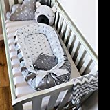 Silent night Baby nest bed or toddler size nest portable crib lounger baby bassinet co sleeper babynest babynest bed travel pad pod for newborn