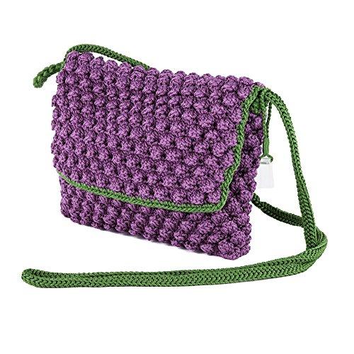 Bolsa de embrague, Giovanna Cerise, de algodón