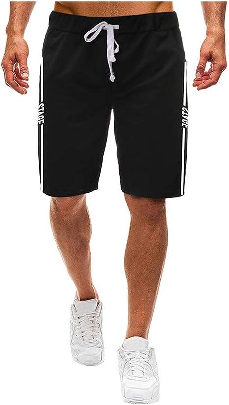 Karinao - Pantalones cortos de algodón para hombre, para ocio ...