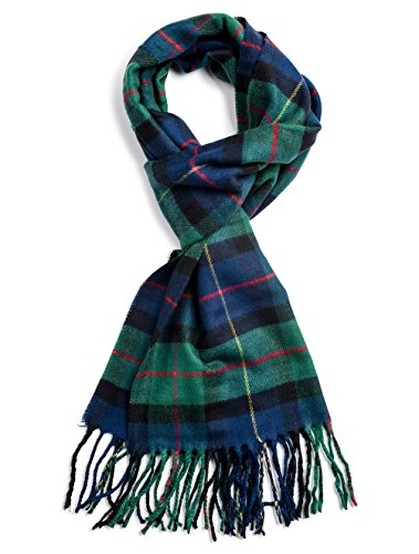 - Veronz Soft Classic Cashmere Feel Winter Scarf, Holiday Tartan