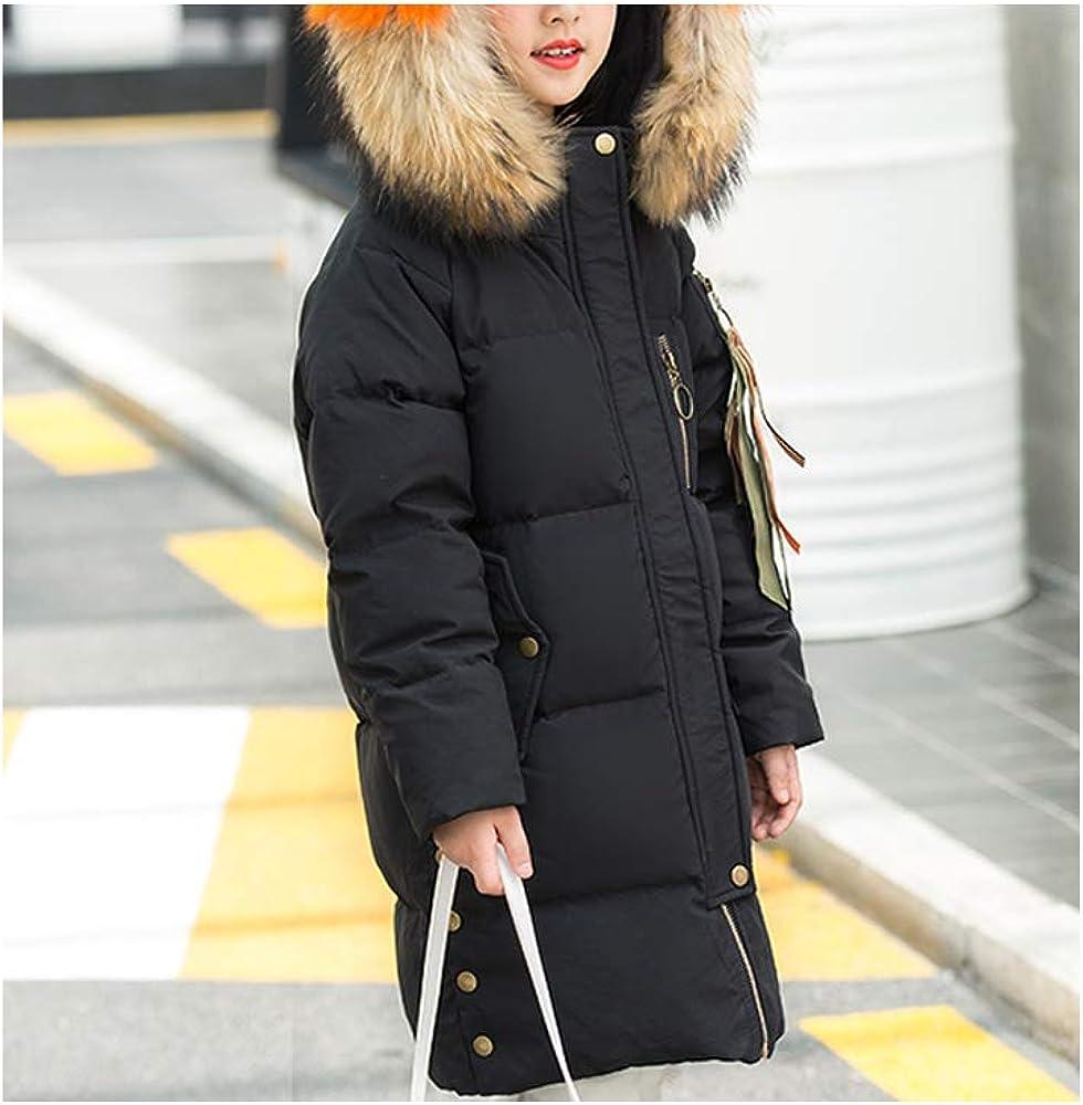 Phorecys Kids Girls Parka Outwear Down School Jacket with Hood