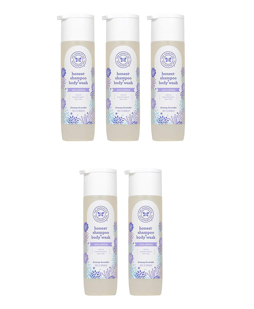 Lavender Wash, 10 Ounce (5 Bottles) by The Honest Company