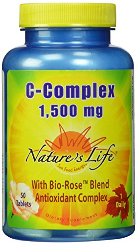 Cheap Nature's Life C-Complex Tablets, 1500 Mg, 50 Count