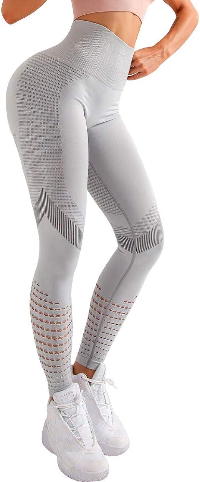 Luiyy® Talle Alto Camuflaje Sin Costura Leggins para Mujer ...