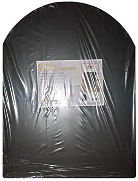 Plataforma protectora de suelos, color negro, para estufa de leña y pellets, 60 cm x 80 cm: Amazon.es: Jardín