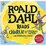 Roald Dahl Audio Collection AUDIO CD x4: Includes Charlie and the Chocolate Factory, James and the Giant Peach…