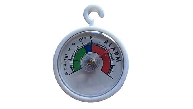 Analógica Termómetro (colgar en el frigorífico, congelador ...