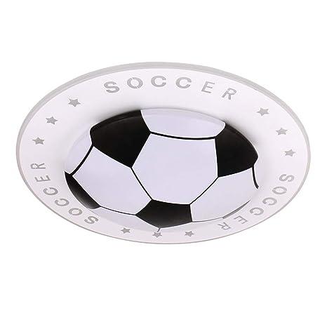 LED Lámpara de techo Fútbol Fútbol Tema Diseño Lámpara de ...