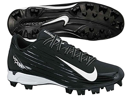 Nike Mens Vapor Strike 2 Low Molded Baseball Cleat, Negro/Blanco, 42 D(M) EU/7.5 D(M) UK