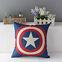 Chicozy Superheroes Style Home Decor Throw pillow cover Decorative pillow Cus...