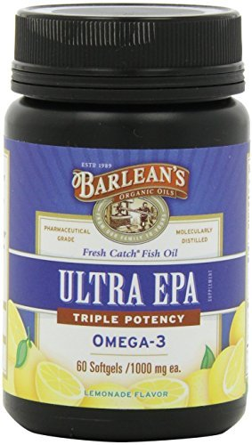 2 PACK: Ultra EPA Fish Oil - Softgels - 60 ct. by Barlean's Organic Oils by Barlean's Organic Oils