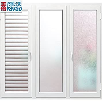 Xz-Glas Aufkleber transparente Folie opak Büro Badezimmer Badezimmer ...